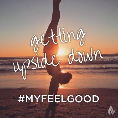 getting upside down